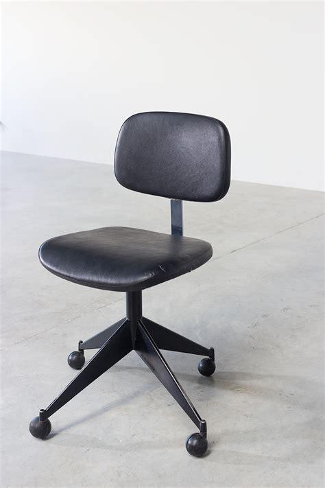 chaise de bureau vintage desk chair velca legnano for jules wabbes furniture