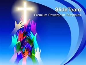 Jesus Christ Bible Powerpoint Templates Salvation Religion ...