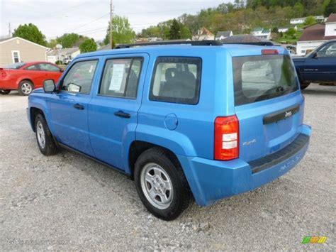patriot jeep blue 2009 surf blue pearl jeep patriot sport 4x4 64034608