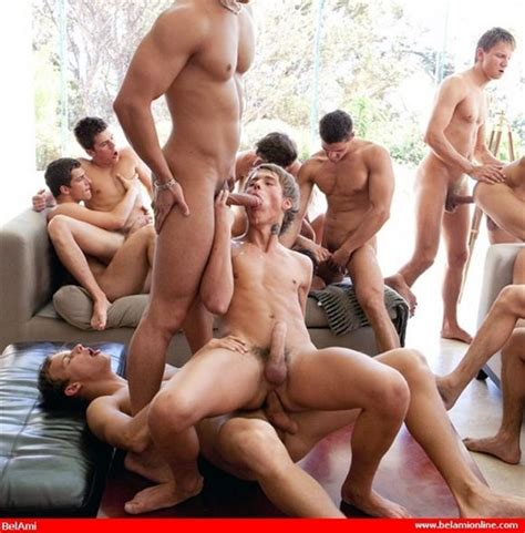 Bel Ami Plans 20 Man Orgy To Celebrate 20th Anniversary