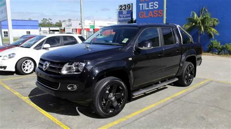Vw Amarok 20 Inch Custom Rims Kmc Rockstar Black Wheels