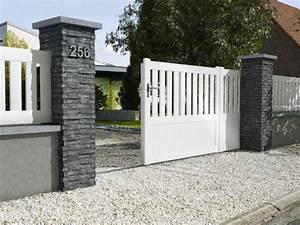 Idee Cloture Devant Maison : 10 solutions pour embellir son portail et sa cl ture ~ Dailycaller-alerts.com Idées de Décoration