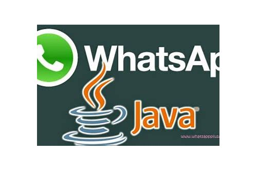 download the java whatsapp