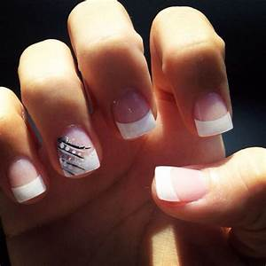french tip cute | Nails | Pinterest | Wedding, Nail design ...