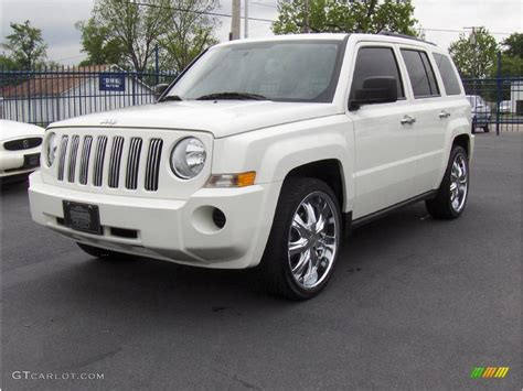 silver jeep patriot 2008 stone white clearcoat jeep patriot sport 8649415
