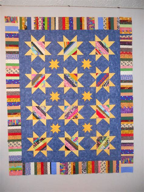 string pieced star quilt pattern favequiltscom
