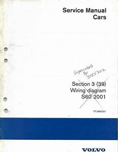 Volvo S60 Service Manual Wiring Diagrams 2001