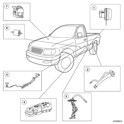 2009 Ford F 150 Fuel System Diagram by Is There More Then One Fuel Filter On An 01 F150 Is So
