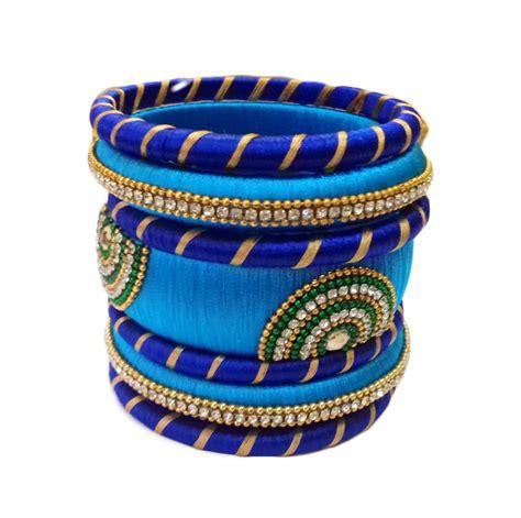 silk thread bangle set wudbox