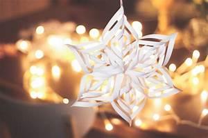 Comment Faire Une étoile En Papier : id e d co pour no l comment faire un flocon de neige en ~ Nature-et-papiers.com Idées de Décoration