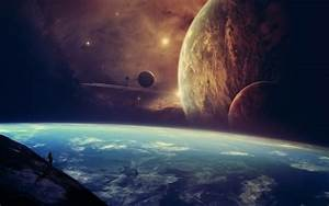 Artwork Concept Art Planets Space Skies Stars