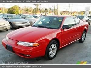 Bright Red - 2003 Oldsmobile Alero Gl Coupe