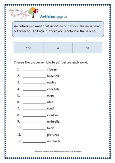 articles worksheet moon light english grammar worksheets grammar worksheets worksheets