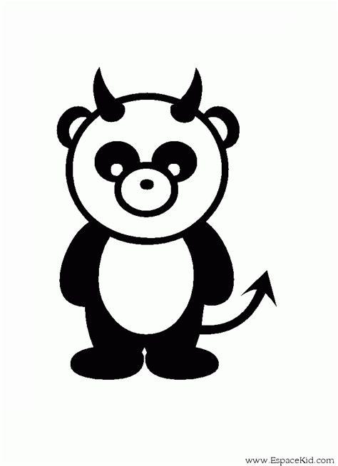 Coloriage pandas à imprimer pour les enfants - CP19944