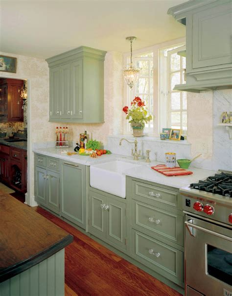 country green kitchen cabinets country kitchen redeisign traditional kitchen 5978