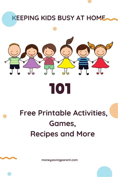 keeping kids busy  home   printables