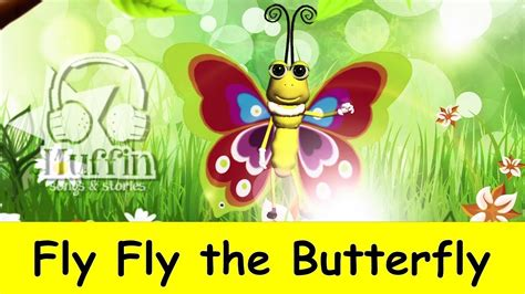 muffin songs fly fly the butterfly nursery rhymes 422 | maxresdefault