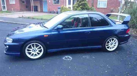 Subaru 1999 Impreza Wrx Sti Type R Version 6 2 Door Blue