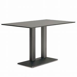 4560 Quadra per Bar e Ristoranti Basamento doppio per tavolo da bar o ristorante, in metallo