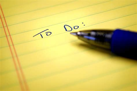 Why Your Todo List Should Never Be Empty - Time Management ...
