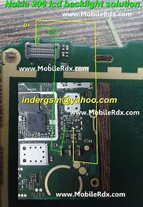 Nokia 206 Lcd Light Problem Solution Jumper