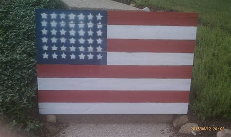 template for pallet flag simple to make this flag out of pallets i made a template of out of cardboard and spray