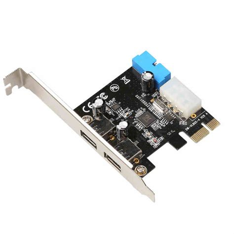 All the search results for 'usb 3.0 pci card' are shown to help you, we can recommend these related keywords. 2 Ports 5Gbps PCI Express to USB 3.0 Expansion Card 4Pin Power Supply + 19pin Header USB3.0 ...