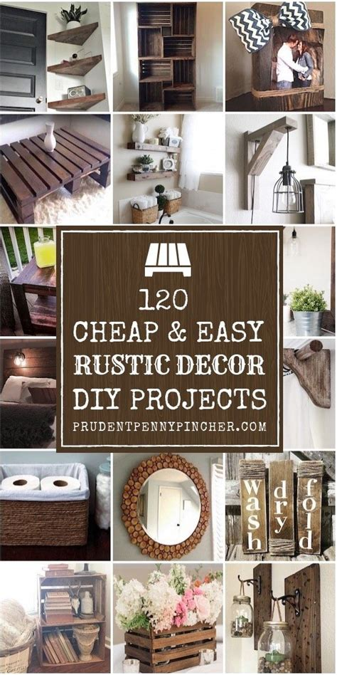 cheap  easy diy rustic home decor ideas cheap diy