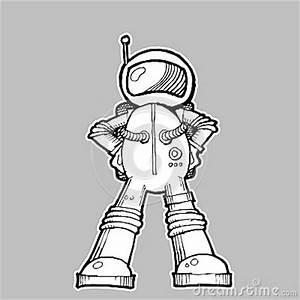 Astronaut Illustration Stock Photos - Image: 34866403