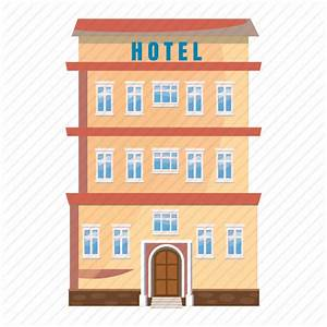 Apartment, building, cartoon, hotel, motel, office, real ...