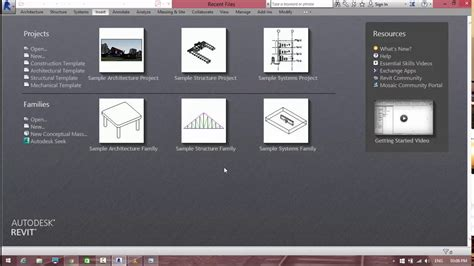 default project templates revit revit 2014 project template missing youtube