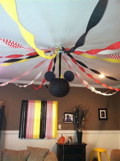 diy decoracao de festa  mickey