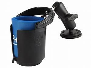 Ram, Mount, Cup, Holder, Magnetic, Metal, Base