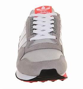 Adidas Zx 500 Light Grey Neon Pink Uni Sports