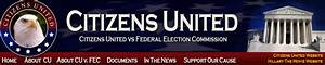 Citizens United Vs Federal Election Commission