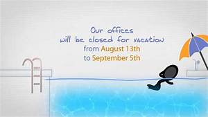 Summer Vacation Notice (After Effects template) on Vimeo