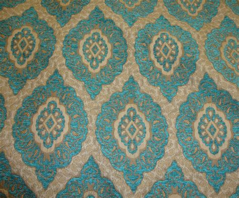 Wide Upholstery Fabric by Chenille Marina Oval Chenille Upholstery Drapery Fabric By