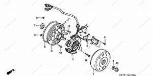 Honda Atv 2002 Oem Parts Diagram For Alternator
