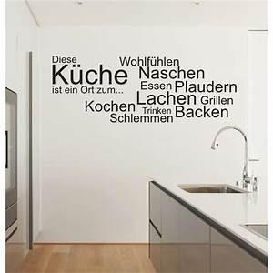 Wandtattoo Küche Bilder : wandtattoo spruch k che ort kochen essen wandsticker wandaufkleber sticker ebay ~ Markanthonyermac.com Haus und Dekorationen