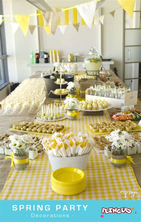 Flingers Party Shop Blog Spring Party Themes