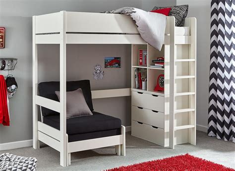 High Sleeper With Desk And Sofa Bed by 20 Collection Of High Sleeper Bed With Sofa Sofa Ideas