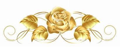 Clipart Decor Gold Trim Background Decoration Clip