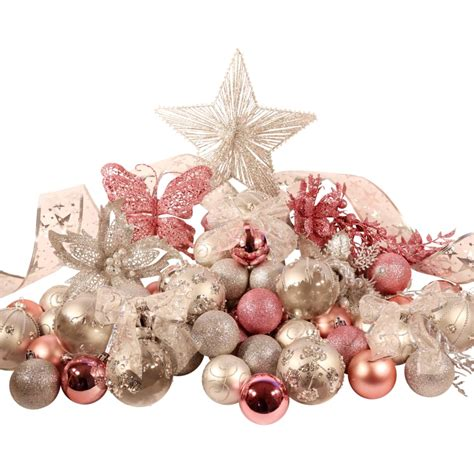 pink and silver christmas decorations my blog