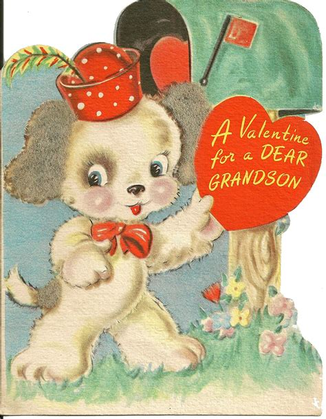 Maybe you would like to learn more about one of these? All sizes | Valentine puppy | Flickr - Photo Sharing! | Dog valentines, Vintage valentine cards ...