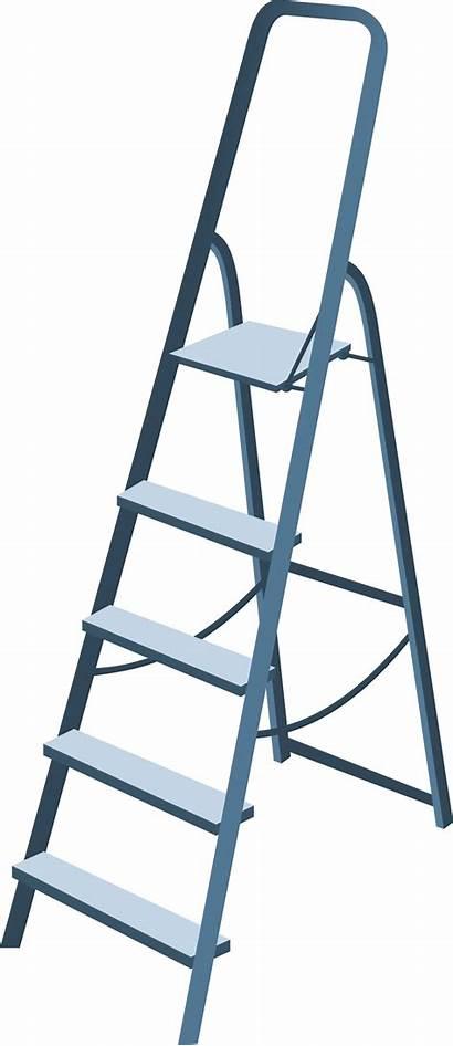 Ladder Clipart Step Stepladder Clip Svg Transparent