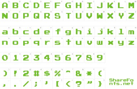 font atari font full version