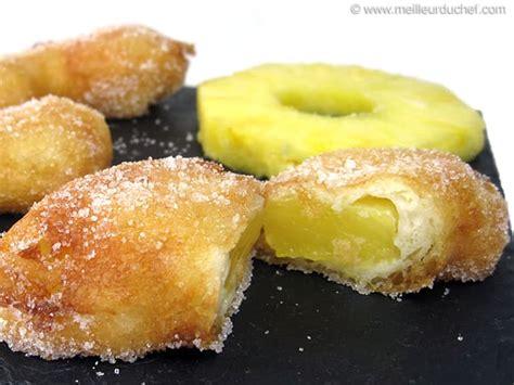 cours de cuisine macarons beignet à l 39 ananas notre recette illustrée meilleurduchef com