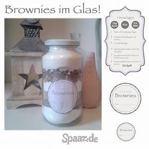 Brownies Im Glas : brownie backmischung im glas mit freebie etiketten ~ Orissabook.com Haus und Dekorationen