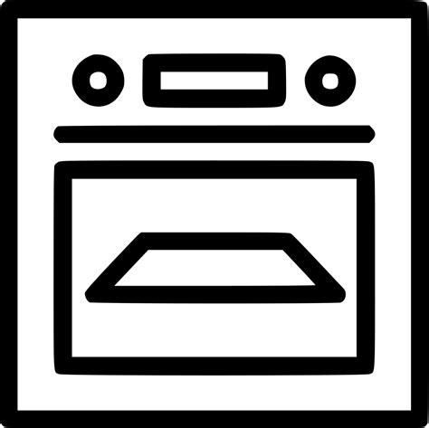 Kitchen Appliances Oven by Cooking Oven Kitchen Appliances Svg Png Icon Free