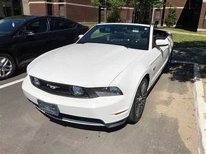 5th gen white 2011 Ford Mustang V8 convertible For Sale - MustangCarPlace